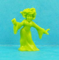 Monster in My Pocket - Matchbox - Series 1 - #26 Medusa (green)