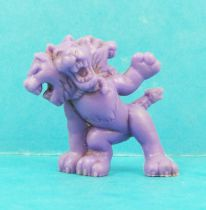 Monster in My Pocket - Matchbox - Series 1 - #28 Cerebus (violet)