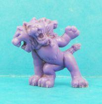 Monster in My Pocket - Matchbox - Series 1 - #28 Cerebus (violet)