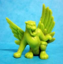 Monster in My Pocket - Matchbox - Series 1 - #40 Winged Panther (green)