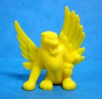 Monster in My Pocket - Matchbox - Series 1 - #40 Winged Panther (yellow)