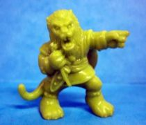 Monster in My Pocket - Matchbox - Series 1 - #43 The Beast (green)