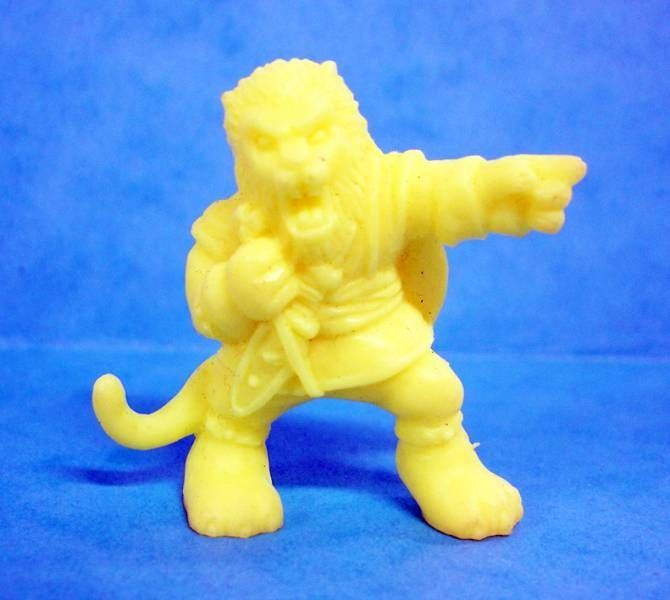 Monster in My Pocket - Matchbox - Series 1 - #43 The Beast (yellow)