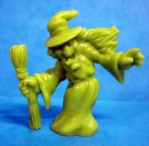 Monster in My Pocket - Matchbox - Series 1 - #44 Witch (green)