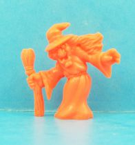 Monster in My Pocket - Matchbox - Series 1 - #44 Witch (orange)