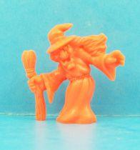 Monster in My Pocket - Matchbox - Series 1 - #44 Witch (orange)