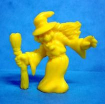 Monster in My Pocket - Matchbox - Series 1 - #44 Witch (yellow)