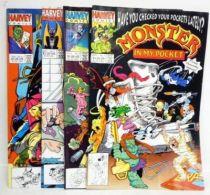 Monsters in My Pocket - Harvey Comics - Monsters in My Pocket (mini-serie 4 numéros)