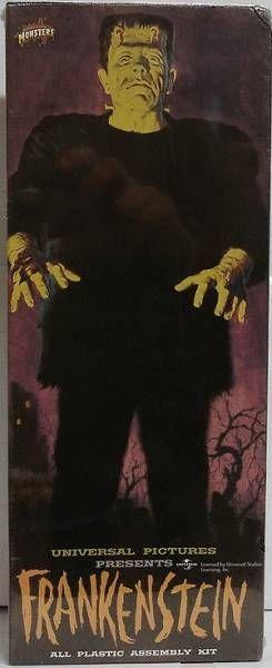 Monstres Universal Studios - Aurora - Kit plastique Frankenstein (réédition exclusive Toys R Us)