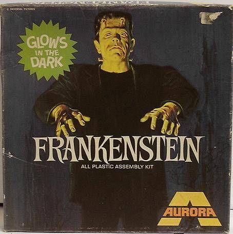 Monstres Universal Studios - Aurora - Kit plastique Frankenstein