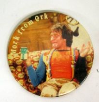 Mork & Mindy - Vintage Button 1978 - Robin Williams