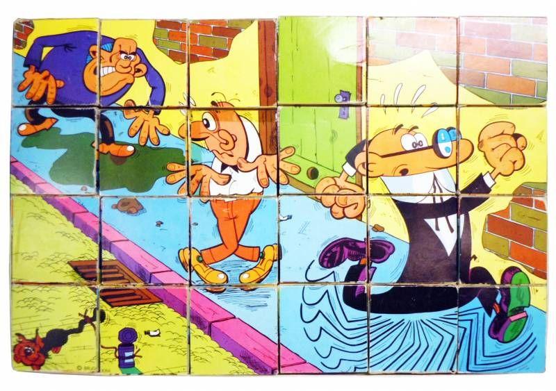 Mortadelo y Filemón - Papirots - Jigsaw 24 Cubes