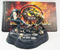 Mortal Kombat - Scorpion vs. Sub-Zero : Fatality! - pvc figures + artbook