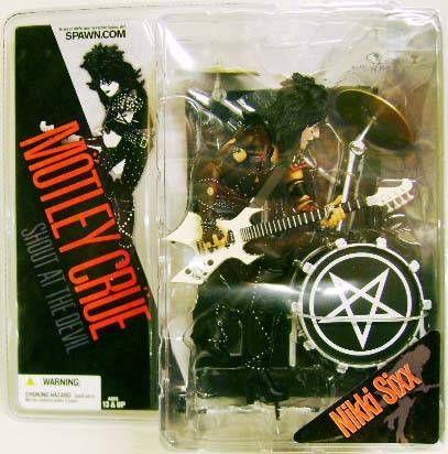 Mötley Crüe - McFarlane figures set