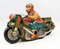 Moto - Jouet mécanique en Tôle - N.R.