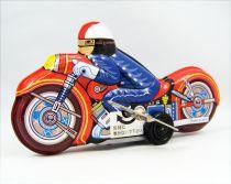 Motorbike - Tin Toy Wind-Up - Motor-Cycle (Yonesawa)