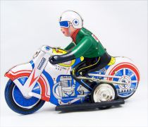 Motorbike - Tin Toy Wind-Up - Motorcycle (Q.S.H.)
