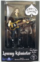 "Motörhead - Lemmy Kilmister \""Black Pick Guard Guitar\"" - Locoape action figure"