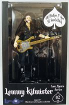 "Motörhead - Lemmy Kilmister \'Rickenbacker guitar cross"" - Locoape action figure"