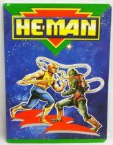 MOTU - School Notebook - He-Man & Slush Head (Kalamarr)