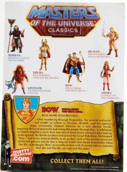 MOTU Classics - Bow (\'\'The Original\'\')