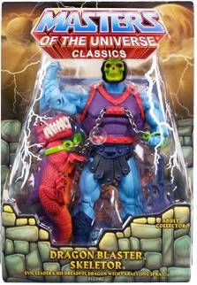 MOTU Classics - Dragon Blaster Skeletor