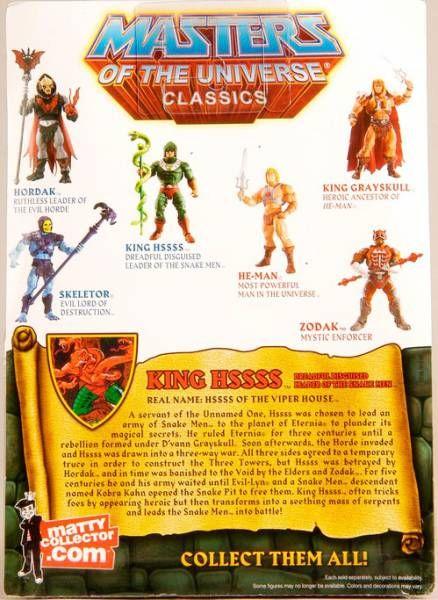 MOTU Classics - King Hssss
