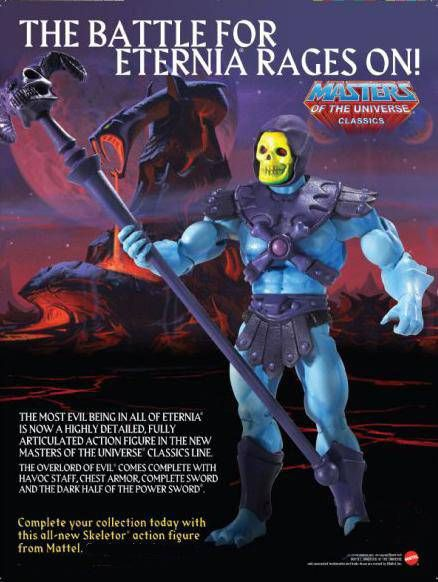 MOTU Classics - Skeletor