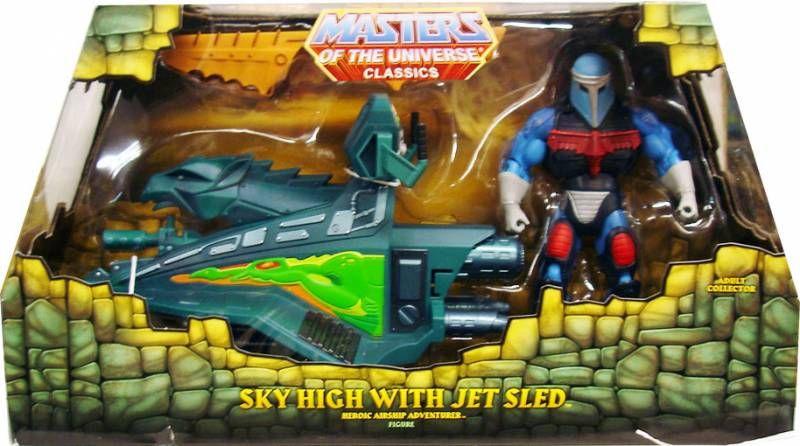 MOTU Classics - Sky High & Jet Sled
