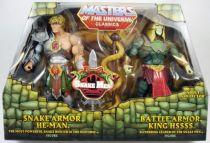 MOTU Classics - Snake Armor He-Man & Battle Armor King Hssss