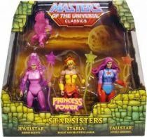 MOTU Classics - Star Sisters : Jewelstar, Tallstar, Starla & GloryBird