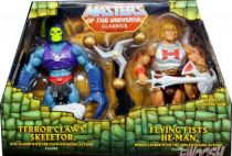 MOTU Classics - Terror Claws Skeletor & Flying Fists He-Man