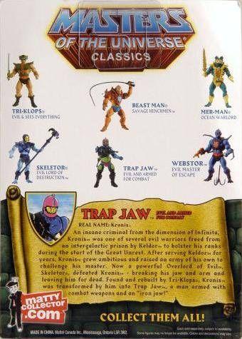 MOTU Classics - Trap Jaw