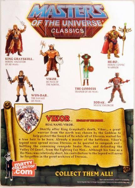 MOTU Classics - Vikor (\'\'The Original\'\')