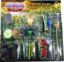 MOTU Classics - Weapons Pak \'\'End of Wars\'\' with Kowl