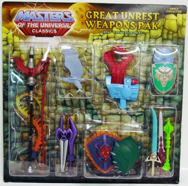 MOTU Classics - Weapons Pak \'\'Great Unrest\'\'