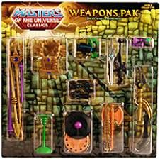 MOTU Classics - Weapons Pak \'\'Great Wars\'\'
