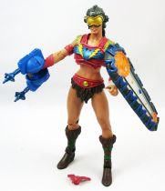 MOTU Classics loose - Attak Trak Pilot Shield Maiden Sherrilyn (Fighting Foe Men)