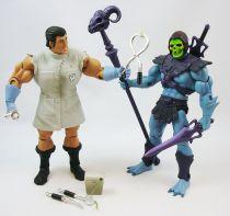 MOTU Classics loose - Robot Chicken Mo-Larr vs. Skeletor