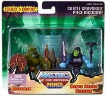 MOTU Classics Minis - Moss Man & Battle Armor Skeletor