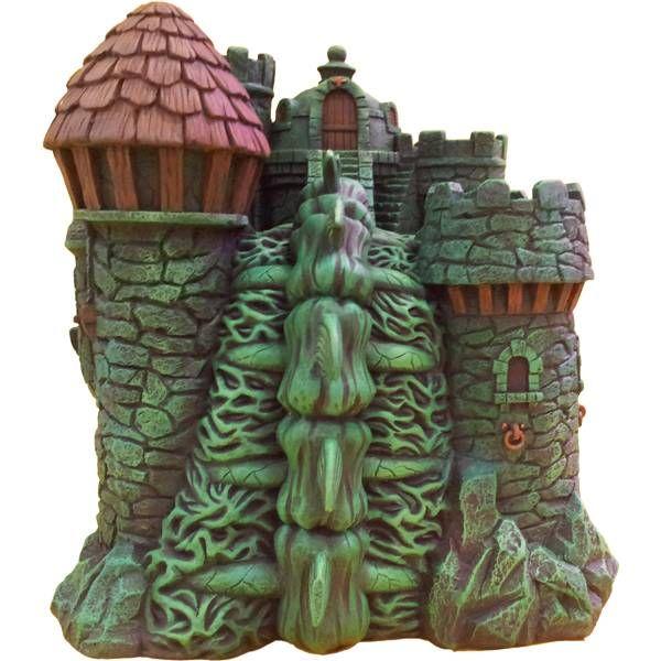 MOTU Icon Heroes - Castle Grayskull Polystone Environment statue