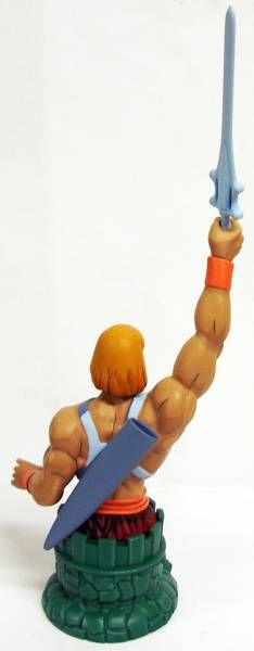 MOTU Icon Heroes - Filmation He-Man Mini Bust Paperweight