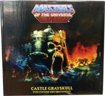 MOTU Icon Heroes - Statue Castle Grayskull, le Château des Ombres