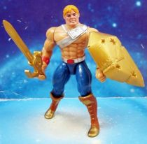 MOTU New Adventures of He-Man - Battle Punching He-Man  He-Man Champion de la Galaxie loose