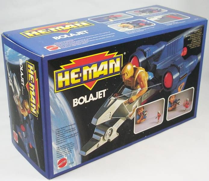 MOTU New Adventures of He-Man - Bolajet (Europe box)
