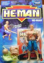 MOTU New Adventures of He-Man - He-Man + mini-comic (Europe card)