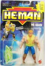 MOTU New Adventures of He-Man - Thunder Punch He-Man  He-Man Pouvoir du Tonnerre carte Europe