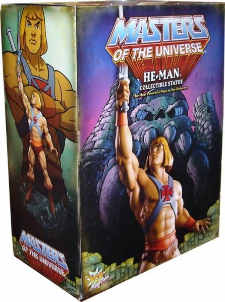 MOTU Pop Culture Shock - He-Man 1:4 scale statue