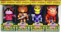 MOTU Wacky Wobbler Funko - Set of 4 Bobble-Head figures : He-Man, Skeletor, Beast-Man, Orko