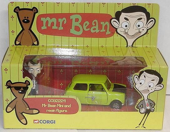 Mr. Bean - Corgi - Mr. Bean\'s Mini with resin figure
